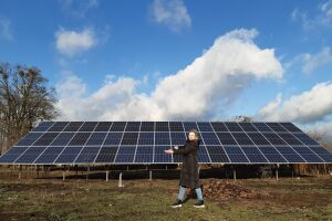 Network solar ground station 30 kW - Kiev region, v. Farbovanoe