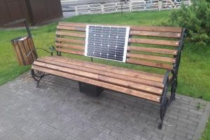 Solar shop with usb-ports for chargers in Vyshgorod