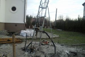 "Inclined drilling for geothermal heat pumps Probes ""Ground-water"""