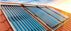 Maintenance of solar collectors for solar thermal systems