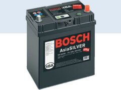 Accumulator battery BOSCH S4 SILVER ASIA 6СТ-40 АЗIЯ Евро