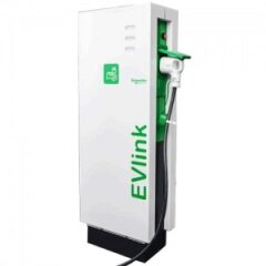 Зарядная станция Schneider Electric EVLINK PARKING 2хТ2 22 КВТ RFID (напольный)