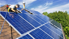 Installation, installation of network solar equipment