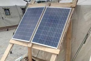 On the positions of the Ukrainian military appeared portable solar panels from companies-leaders on alternative energy sources
