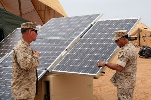 The US Army will develop its own solar panels