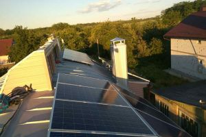 Grid Solar System to compensate for their own consumption 5 kW, Kiev, Berkovtsy
