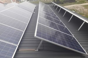"Grid Solar System Schneider Electric 18 kW ""feed-in tariff"", Kiev region, Bucha"