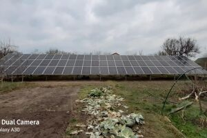 Network solar station 30 kW, Kiev region, with. Negrashi, green tariff